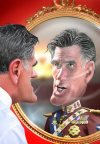Cursed is Romney, the War Monger, who would Destroy the Earth