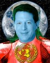 Does Al Gore Think He's Captain Planet?