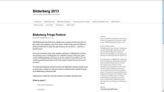 Bilderberg screen